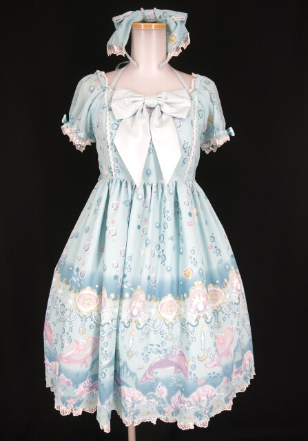 Angelic Pretty Aquarium Carnival SpecialワンピースSet (JSK+KC)