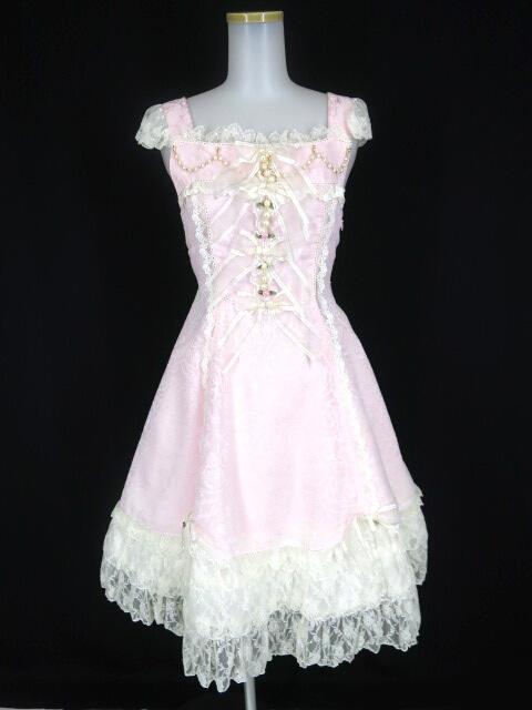 BABY, THE STARS SHINE BRIGHT Rosa Mistica~奇しき薔薇の窓~柄ジャンパースカート&ヘッドドレス