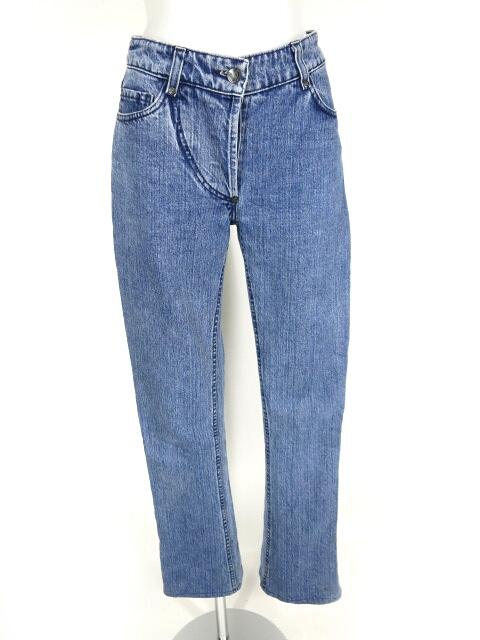 ANGLOMANIA Vivienne Westwood ポケット刺繍入りブーツカットデニムパンツ