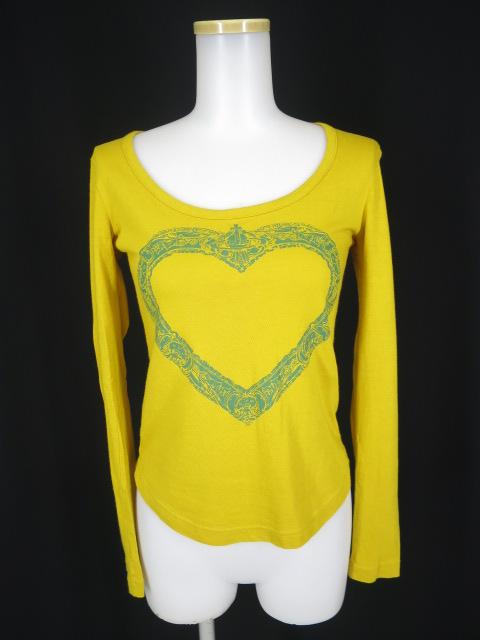 Vivienne Westwood RED LABEL 額縁ハートプリントTシャツ