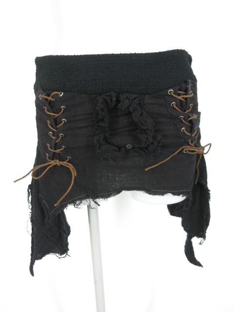 alice auaa 編み上げ付きガーゼスカート