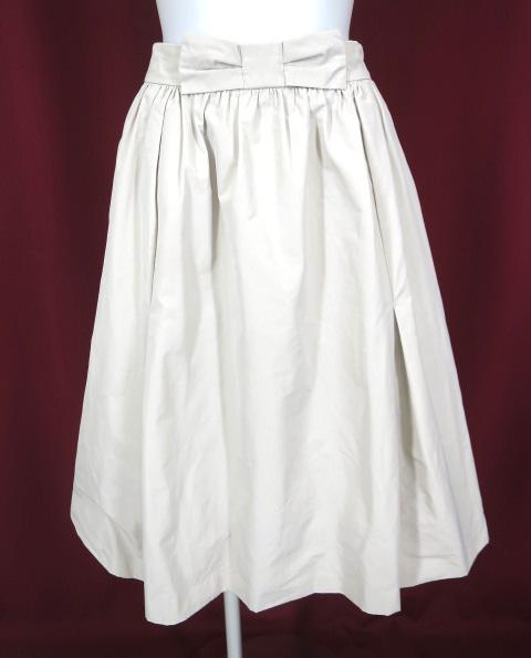 franche lippee black リボンスカート