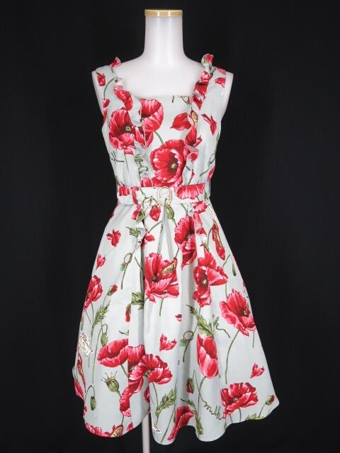 MILK ポイズン ポピー dress