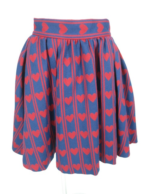 MILK ハート レジメンタル スカート