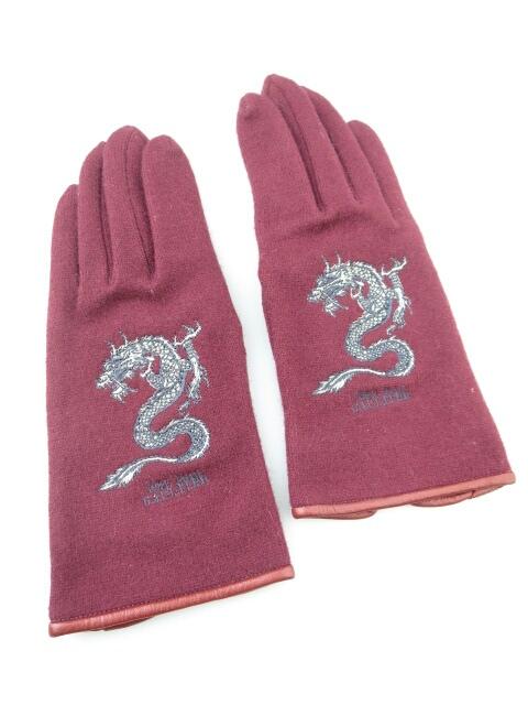 Jean Paul GAULTIER ドラゴンニット手袋