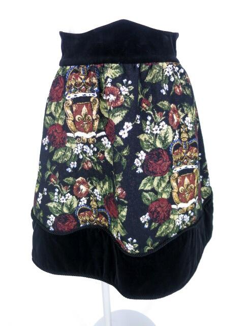 Jane Marple 王冠と百合のゴブランスカート