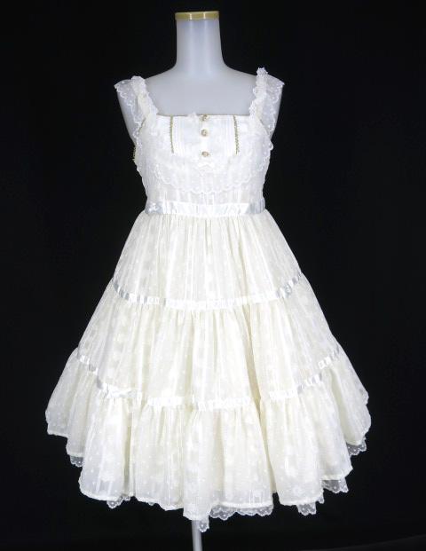 Angelic Pretty ミルクティージャンパースカート