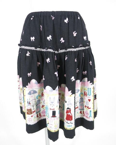 Emily Temple cute うさぎクローゼットptスカート