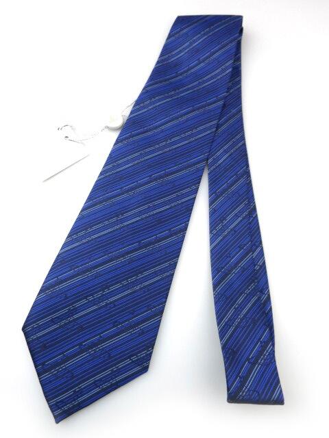 Vivienne Westwood オーブ&バイアスストライプ柄 ジャガード織りネクタイ