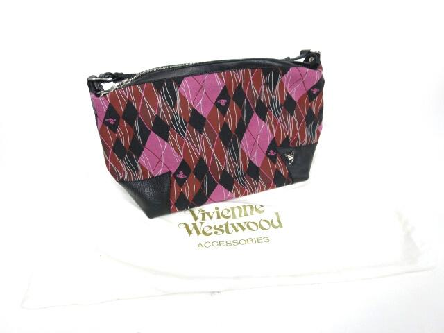 Vivienne Westwood アーガイルショルダーバッグ