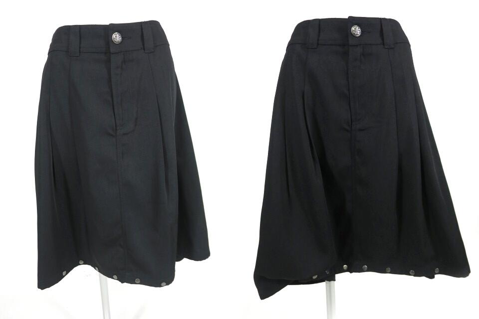ALGONQUINS 裾ボタン付き2wayスカートパンツ