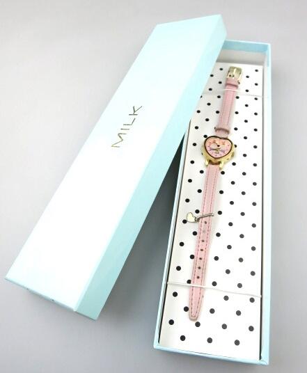 MILK ハート腕時計
