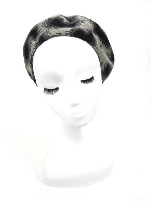 Vivienne Westwood レオパードベレー帽
