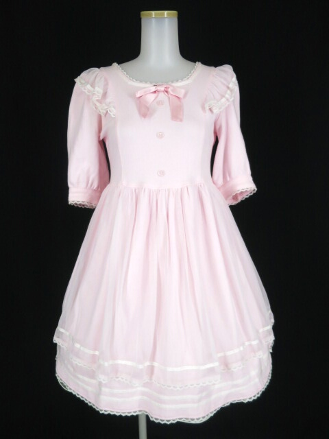 Angelic Pretty Creamy Dollカットワンピース