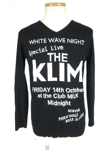 MILK BOY THE KLIM フライヤー セーター