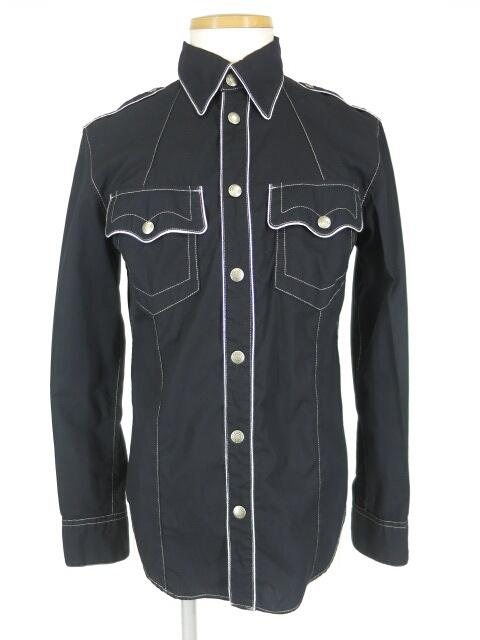 Jean Paul GAULTIER JEAN'S パイピングミリタリーシャツ