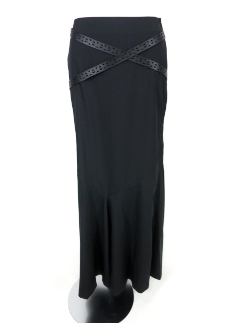 Jean Paul GAULTIER FEMME ベルト付きロングスカート