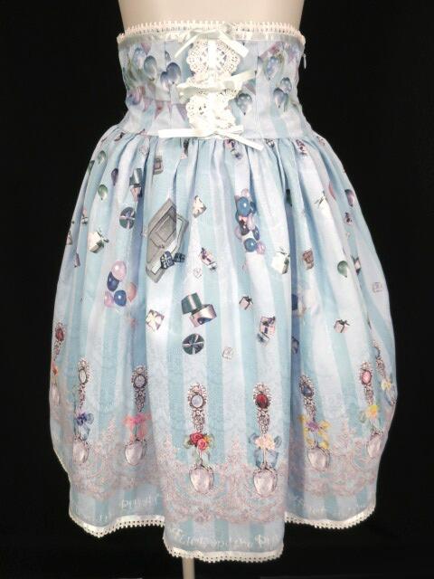 ALICE and the PIRATES 幸せのシルバースプーン~12ヶ月の贈り物~柄スカート