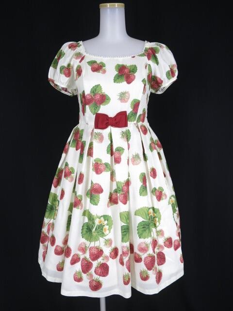 Leur Getter Sweet Strawberry 袖付ワンピース