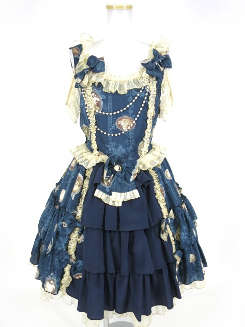 Metamorphose Vintage Cameo ドレッシィジャンパースカート