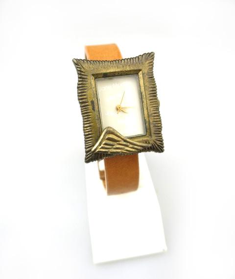 Jane Marple 額縁モチーフ腕時計