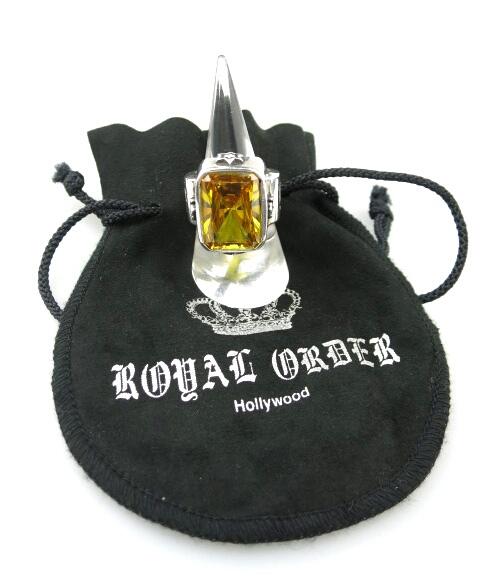 ROYAL ORDER GOD SQUARE リング