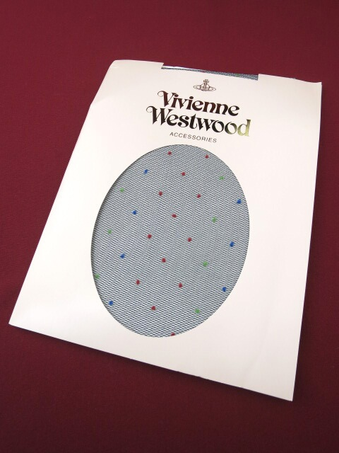 Vivienne Westwood カラードット柄タイツ