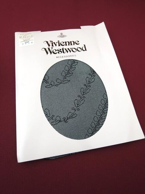 Vivienne Westwood オブリークフラワー柄タイツ