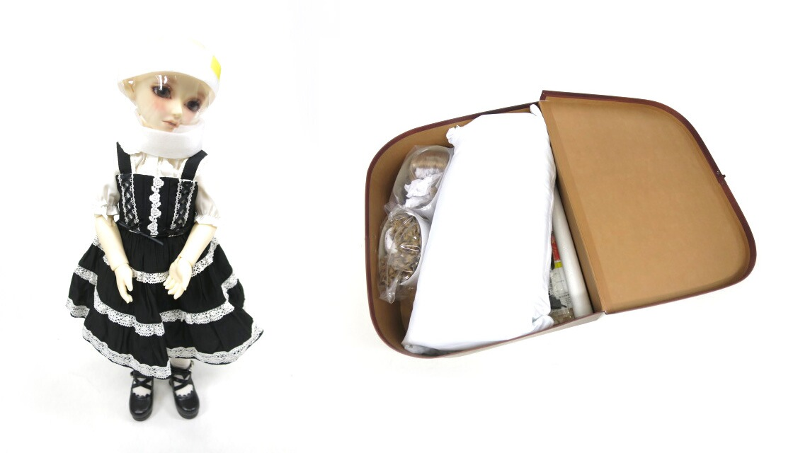 Super Dollfie×BABY, THE STARS... Dear SD くん ミルフィーユジャンパースカートコーデセット