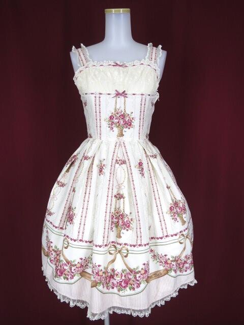 Innocent World 邸宅の薔薇ジャンパースカート