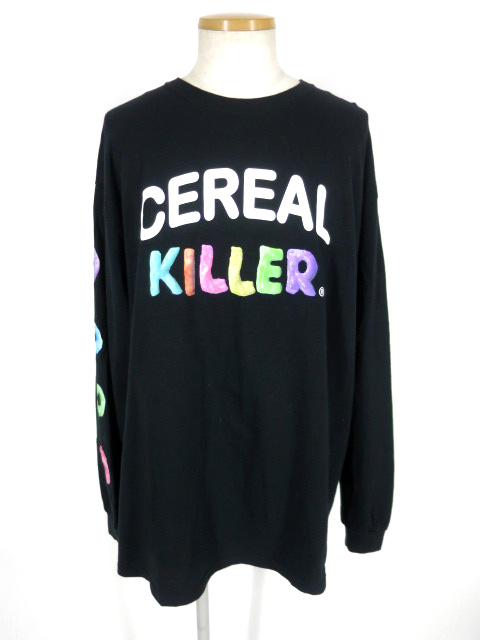 MILK BOY CEREAL KILLER 長袖Tシャツ