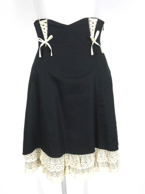Victorian maiden ハイウェストトーションレーススカート