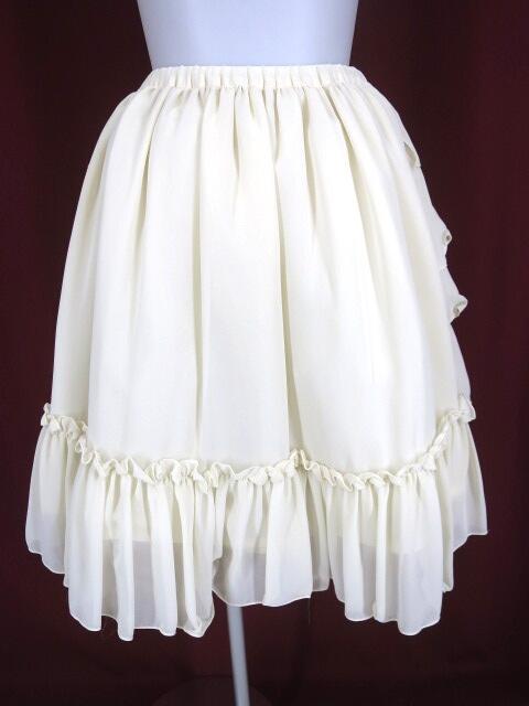 Victorian maiden フリルシフォンアンダースカート