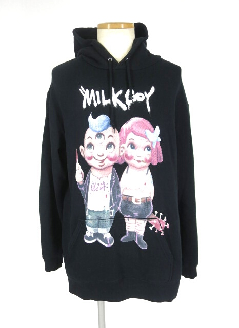 MILK BOY SICK COUPLE HOODY パーカー