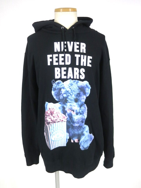 MILK BOY NEVER FEED BEAR HOODY パーカー