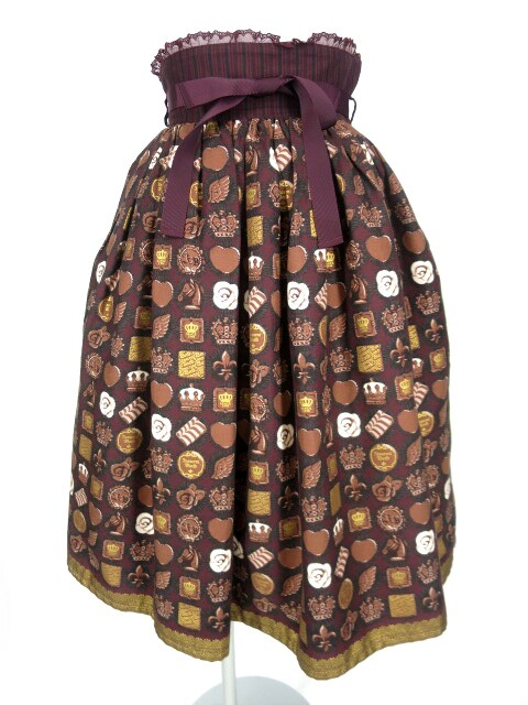 Innocent World オリジナルチョコレートスカート