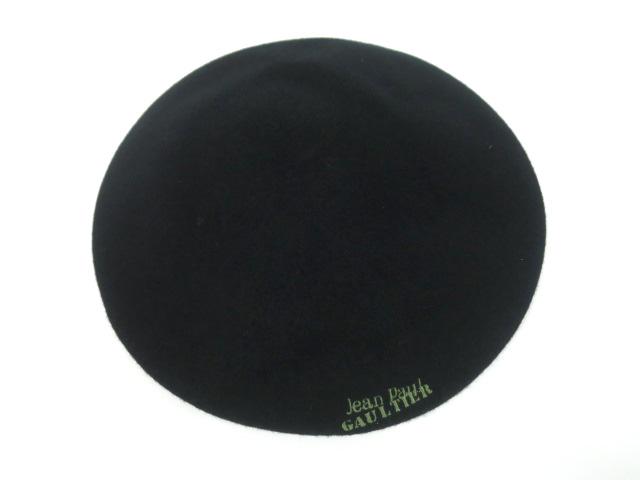 Jean Paul GAULTIER ロゴ刺繍ベレー帽