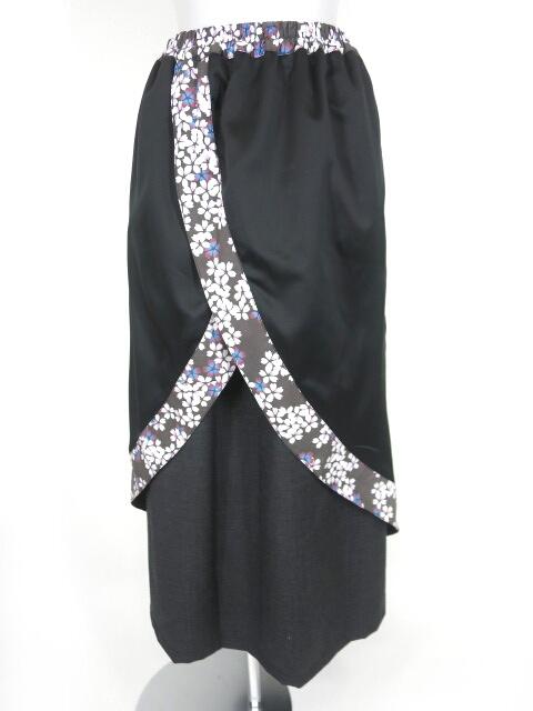 gouk 2枚重ね風スカート