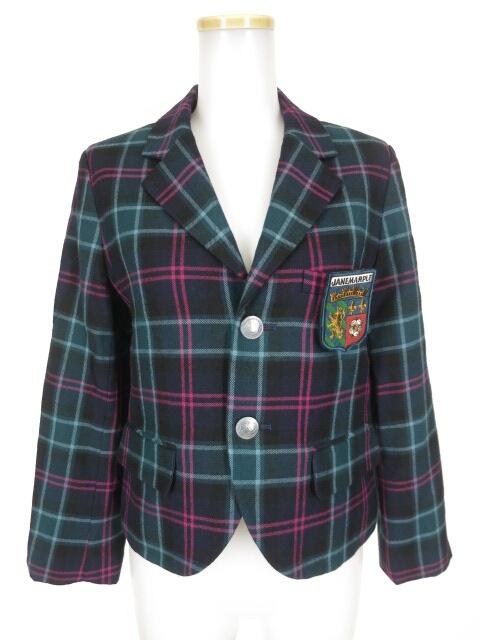 Jane Marple タータンチェックジャケット
