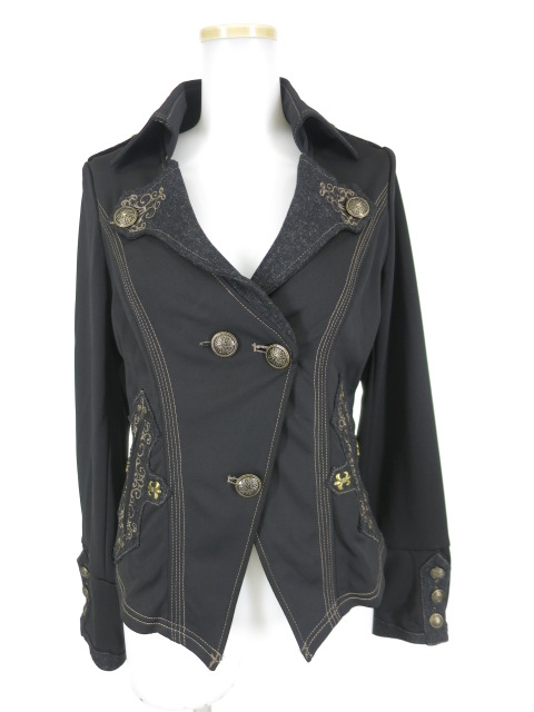 OZZ ANGELO 刺繍入りジャケット