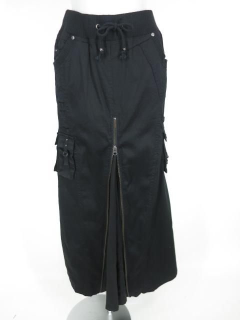 Ozz Croce ジップ付きロングスカート