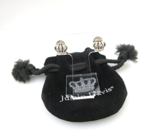 Justin Davis TINY CROWN earring ピアス SEJ016