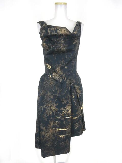 Vivienne Westwood ANGLOMANIA 花柄ドレス