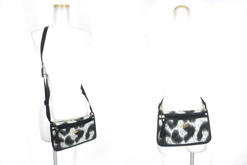Vivienne Westwood レオパード柄2wayバッグ