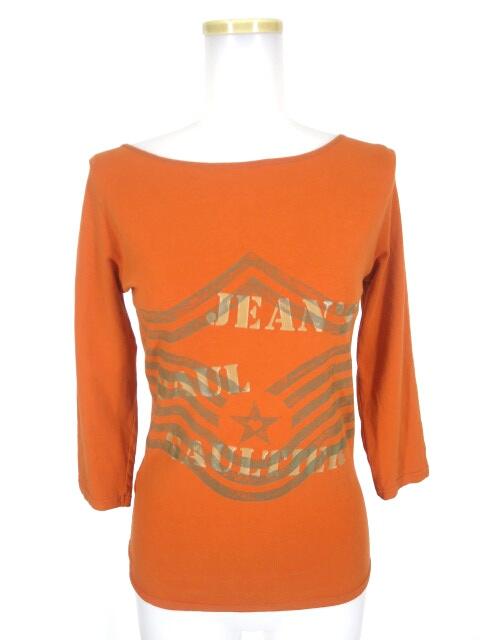 JEAN'S PAUL GAULTIER 編み上げ付き七分袖カットソー