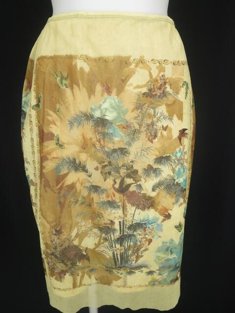 Jean Paul GAULTIER 和柄パワーネットスカート