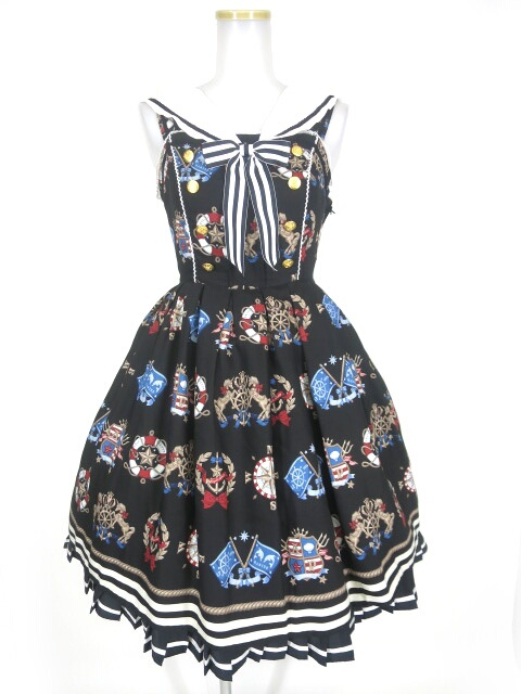 Angelic Pretty Vintage Marineジャンパースカート