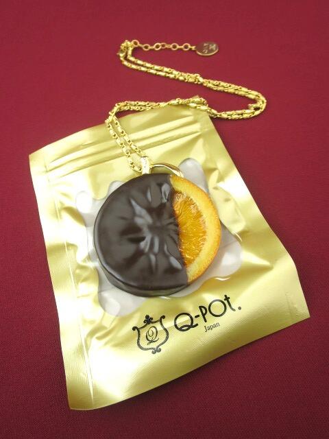 Q-pot. オランジェ ショコラ ネックレス