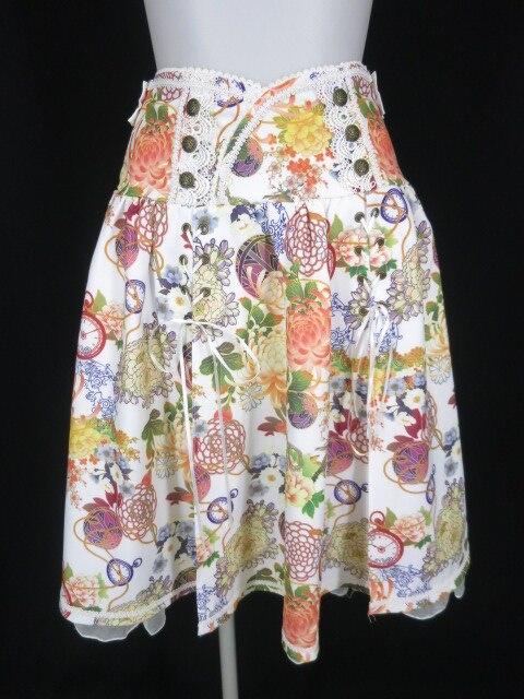 OZZ ONESTE 和柄スカート