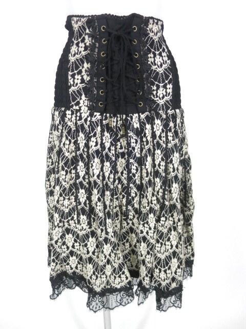 Rozen Kavalier 刺繍入りメッシュチュール2wayスカート
